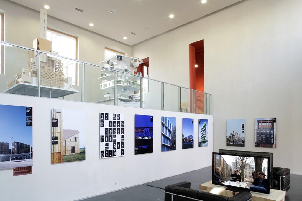 pascaline minella - exposition belleville architecture