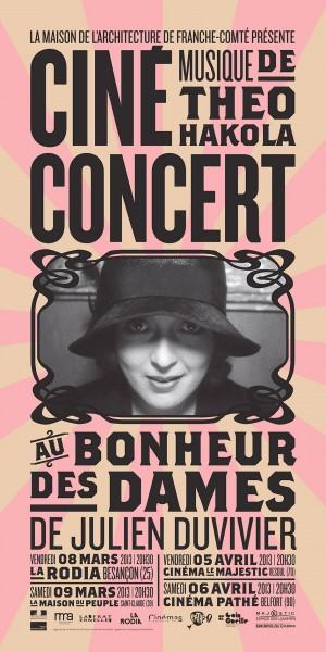 Pascaline Minella   Ciné concert
